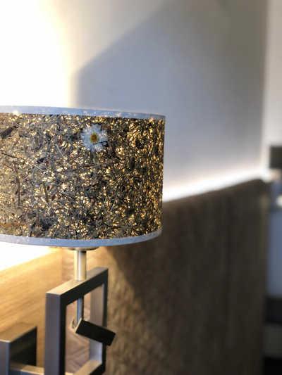 Lampe beim Zimmerumbau im Hotel Hopfeld
