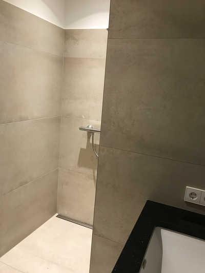 Neues Bad beim Zimmerumbau im Hotel Hopfeld