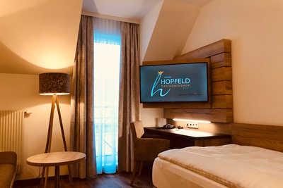 Einzelzimmer im Hotel Dreikönigshof