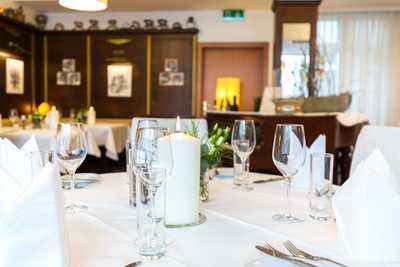 Dreikönigshof Hopfeld Speisesaal Restaurant