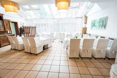 Speisesaal des Hotel Restaurant Dreikönigshof