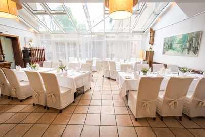 Speisesaal im Hotel Dreikönigshof