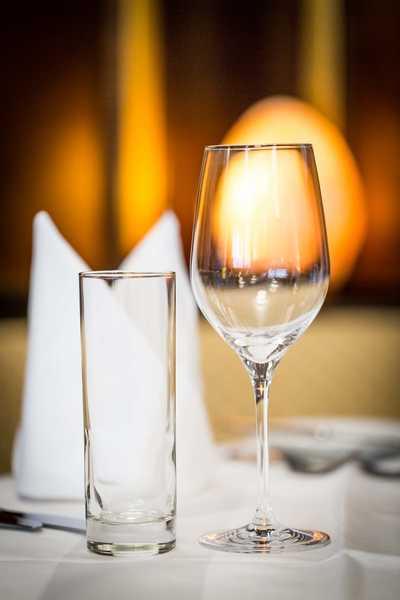 Weinglas Dreikönigshof