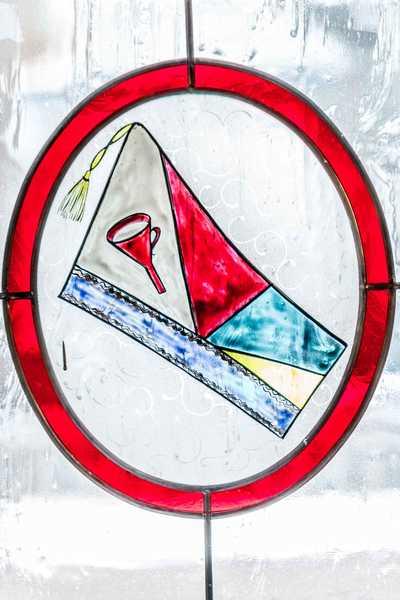 Post Symbol im Hotel Hopfeld