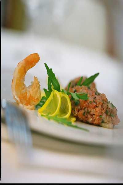 Köstliche Speisen im Restaurant Hotel Dreikönigshof