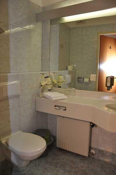 Hotel Dreikönigshof Badezimmer