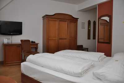 Familie Hopfeld Hotel Dreikönigshof Doppelzimmer