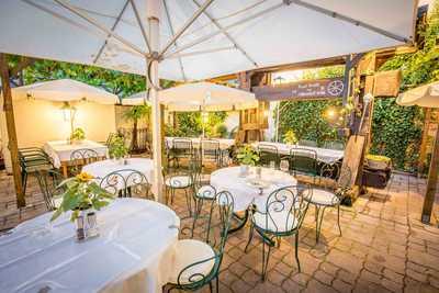 Familie Hopfeld Dreikönigshof- Gastgarten Restaurant