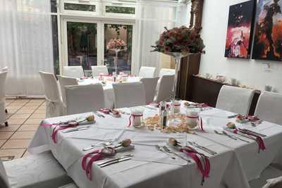Hochzeitstafel im Hotel Dreikönigshof in Stockerau