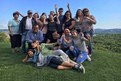 Team vom Dreikönigshof beim Betriebsausflug